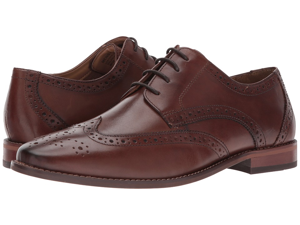 Florsheim - Montinaro Wingtip Oxford (Chocolate Smooth) Men's Lace Up Wing Tip Shoes
