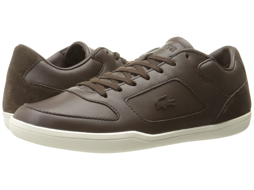 Lacoste Court-Minimal 117 (Dark Brown) Men