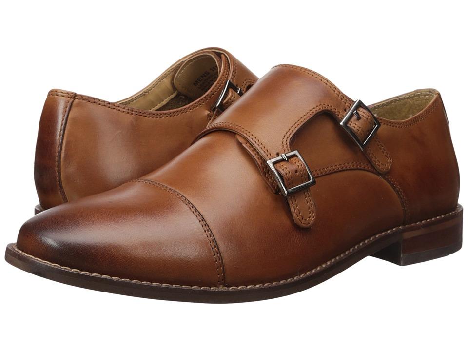 Florsheim Montinaro Double Monk Strap (Saddle Tan Smooth) Men
