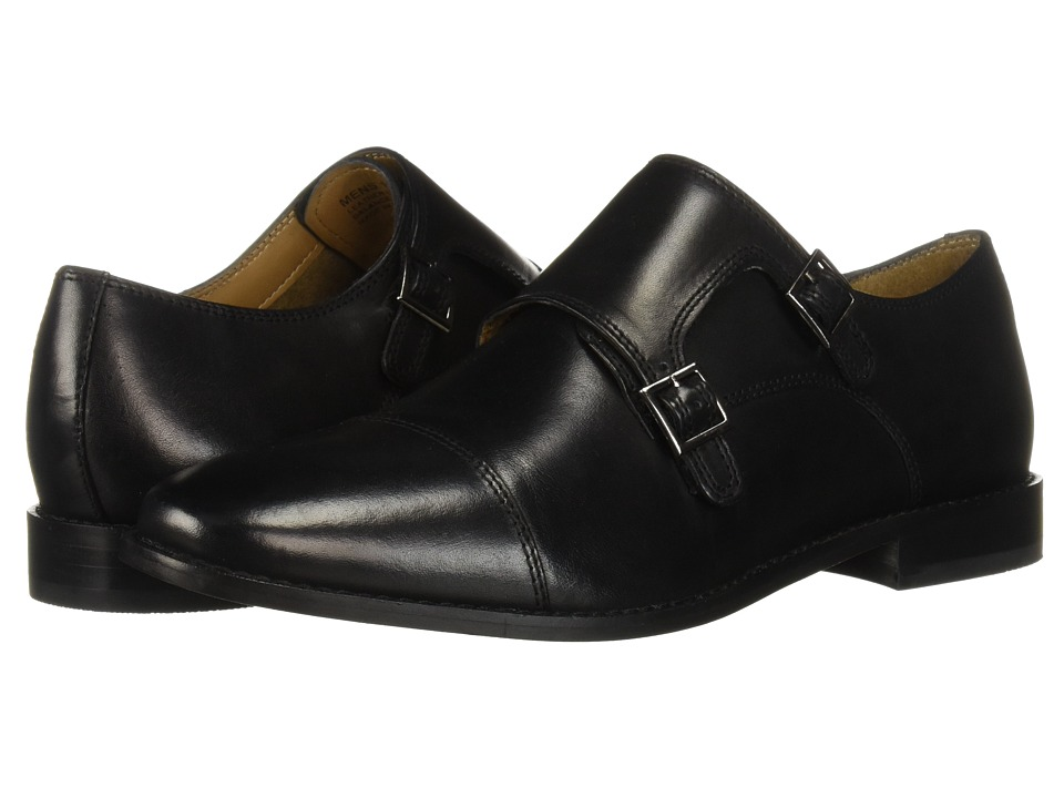 Florsheim - Montinaro Double Monk Strap (Black Smooth) Men's Shoes