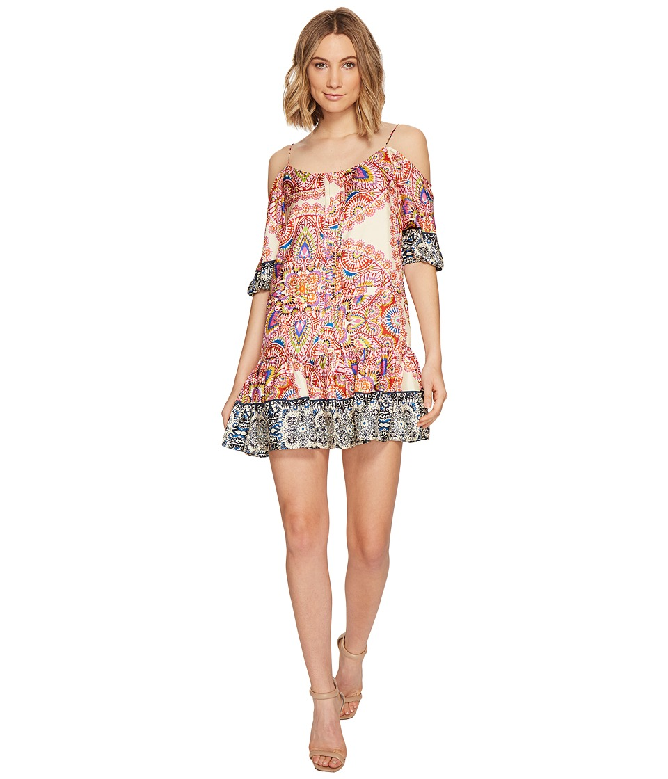 Nicole Miller La Plage by Nicole Miller Mandala Paradise Cold Shoulder Dress