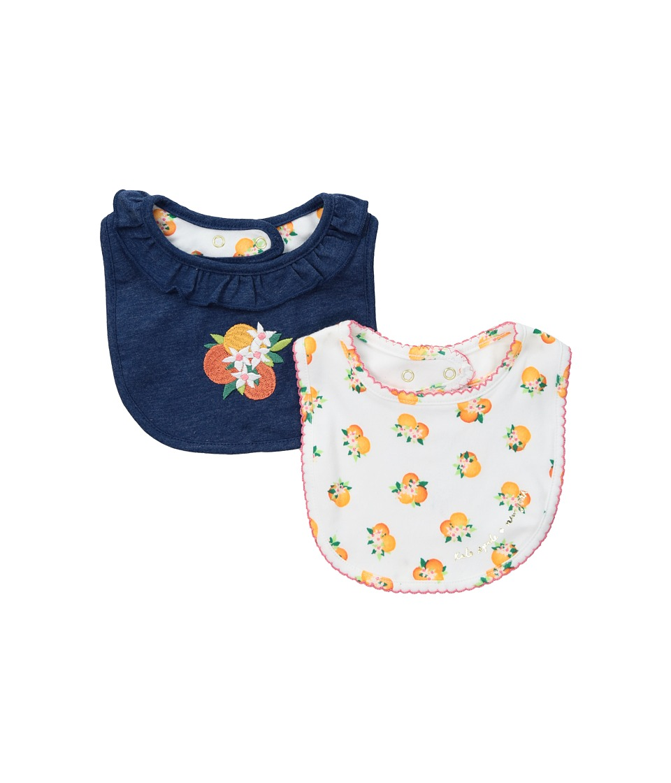 Kate Spade New York Kids - Orangerie Bib Set (Infant) (Multi) Accessories Travel