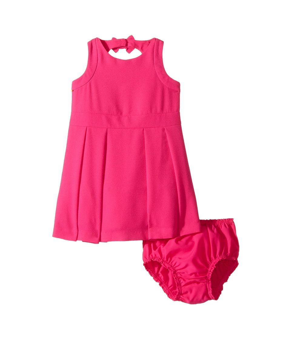 Kate Spade New York Kids - Bow Back Dress Set (Infant) (Bougainvillea) Girl's Active Sets
