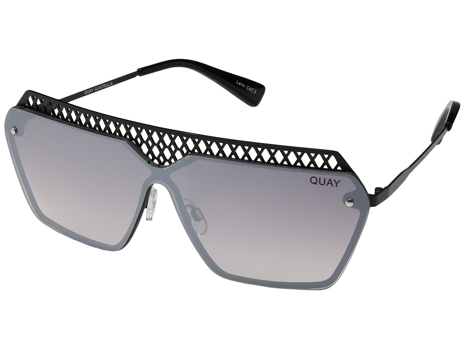 QUAY AUSTRALIA - Hall Of Fame (Black/Mirror) Fashion Sunglasses