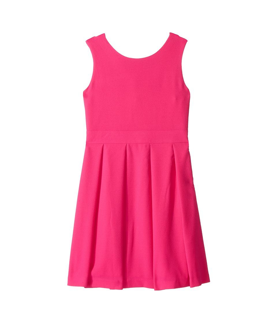 Kate Spade New York Kids - Bow Back Dress (Little Kids/Big Kids) (Bougainvillea) Girl's Dress