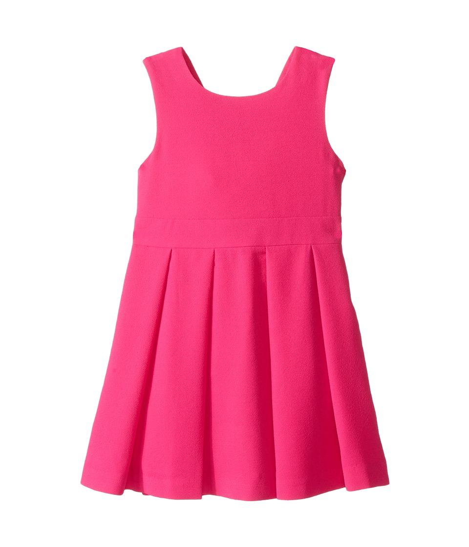 Kate Spade New York Kids - Bow Back Dress (Toddler/Little Kids) (Bougainvillea) Girl's Dress
