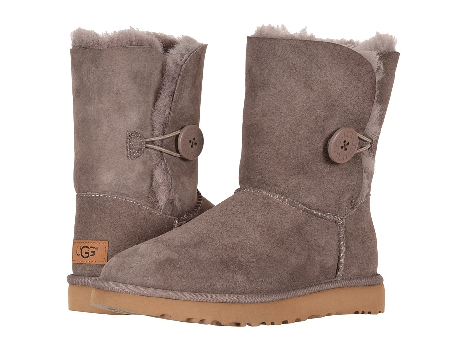 UGG Bailey Button II (Stormy Grey) Women