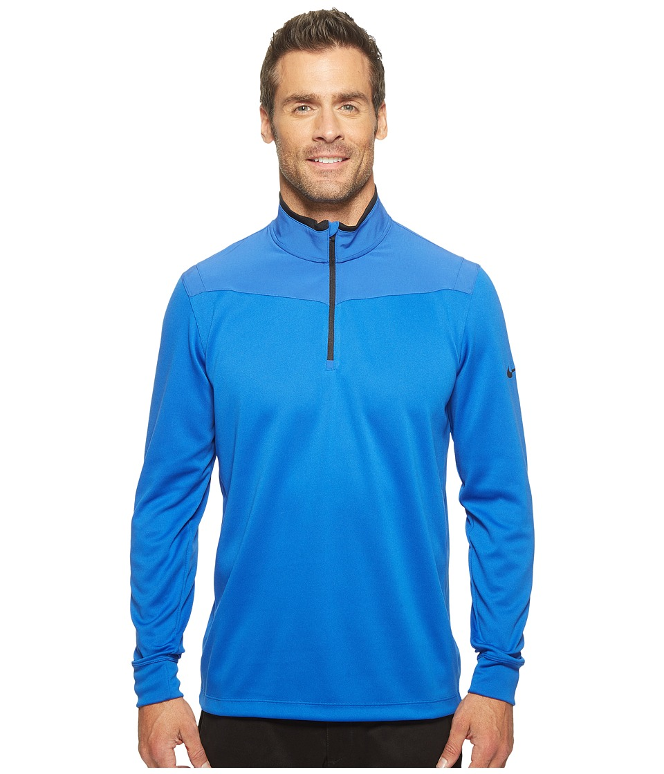 Nike - Long Sleeve Top (Game Royal/Black/Black) Men's Clothing