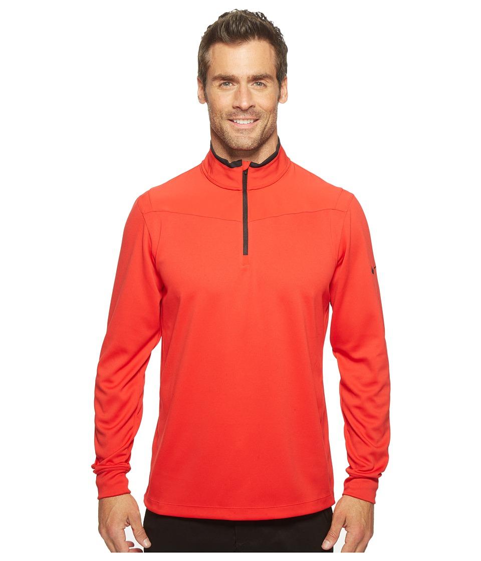 Nike - Long Sleeve Top (University Red/Black/Black) Men's Clothing