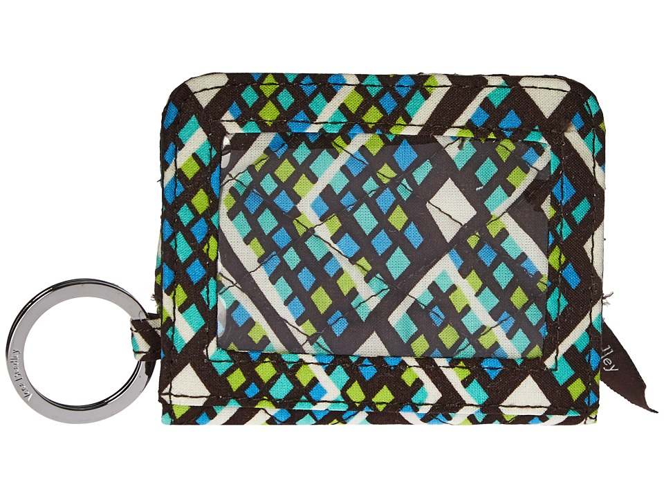 Vera Bradley - Campus Double ID (Rain Forest) Credit card Wallet