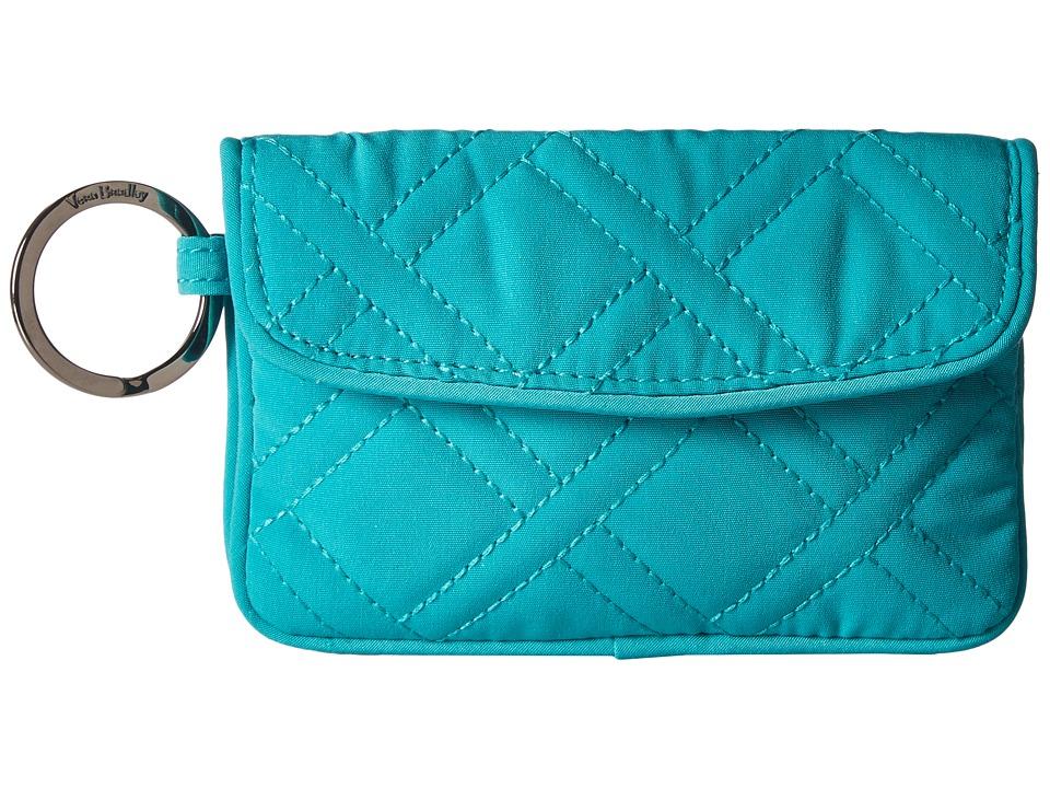 Vera Bradley - Jen Zip ID (Turquoise Sea) Wallet