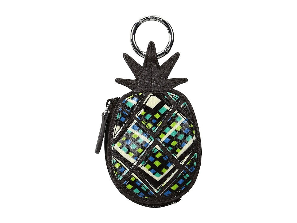 Vera Bradley - Pineapple Bag Charm (Rain Forest) Wallet