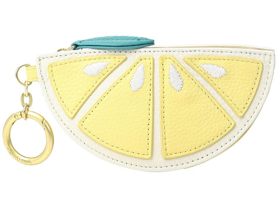Vera Bradley - Citrus Slice Bag Charm (Banana) Wallet