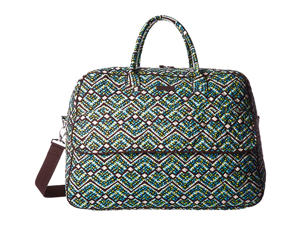 Vera Bradley Luggage - Grand Traveler (Rain Forest) Duffel Bags