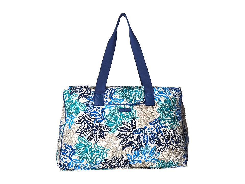 Vera Bradley Luggage - Triple Compartment Travel Bag (Santiago) Bags