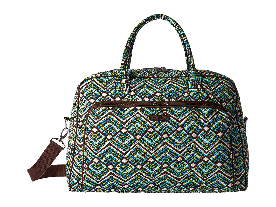 Vera Bradley Luggage - Weekender (Rain Forest) Duffel Bags