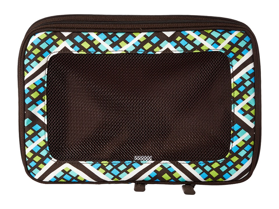 Vera Bradley Luggage - Small Expandable Packing Cubes (Rain Forest) Bags