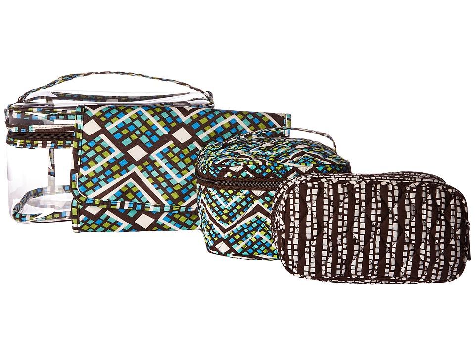 Vera Bradley Luggage - Travel Cosmetic Set (Rain Forest) Wallet