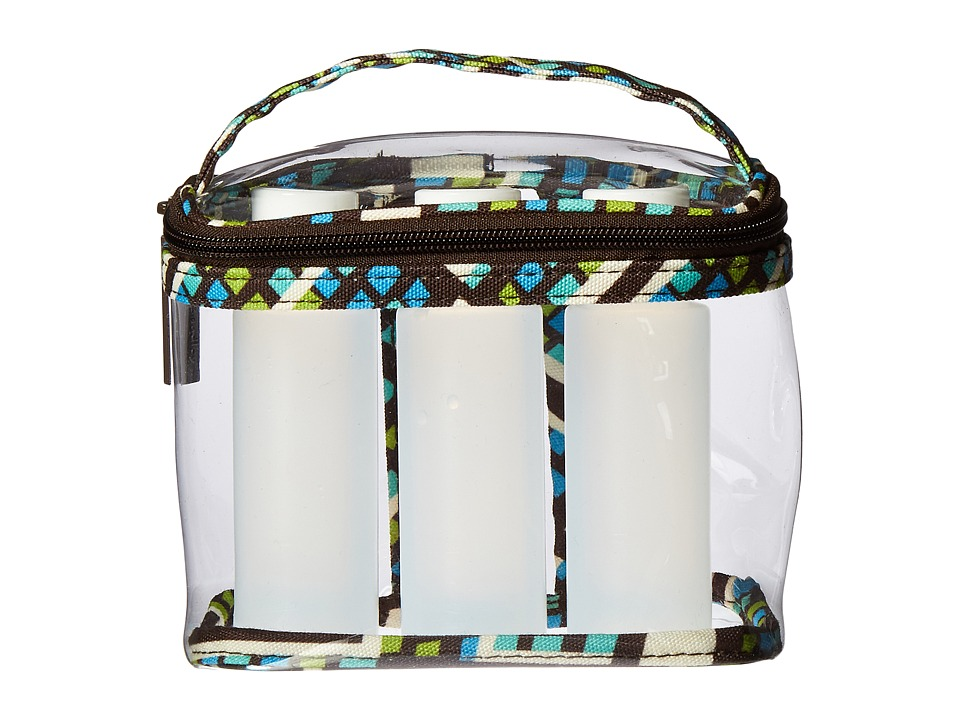 Vera Bradley Luggage - Lighten Up 3-1-1 Cosmetic (Rain Forest) Cosmetic Case