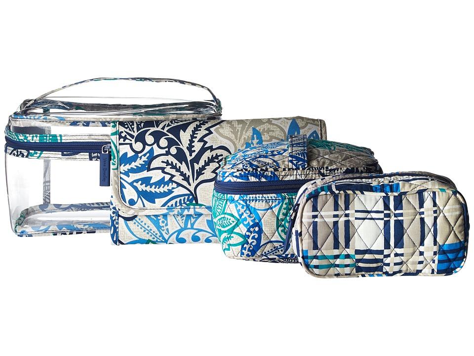 Vera Bradley Luggage - Travel Cosmetic Set (Santiago) Wallet