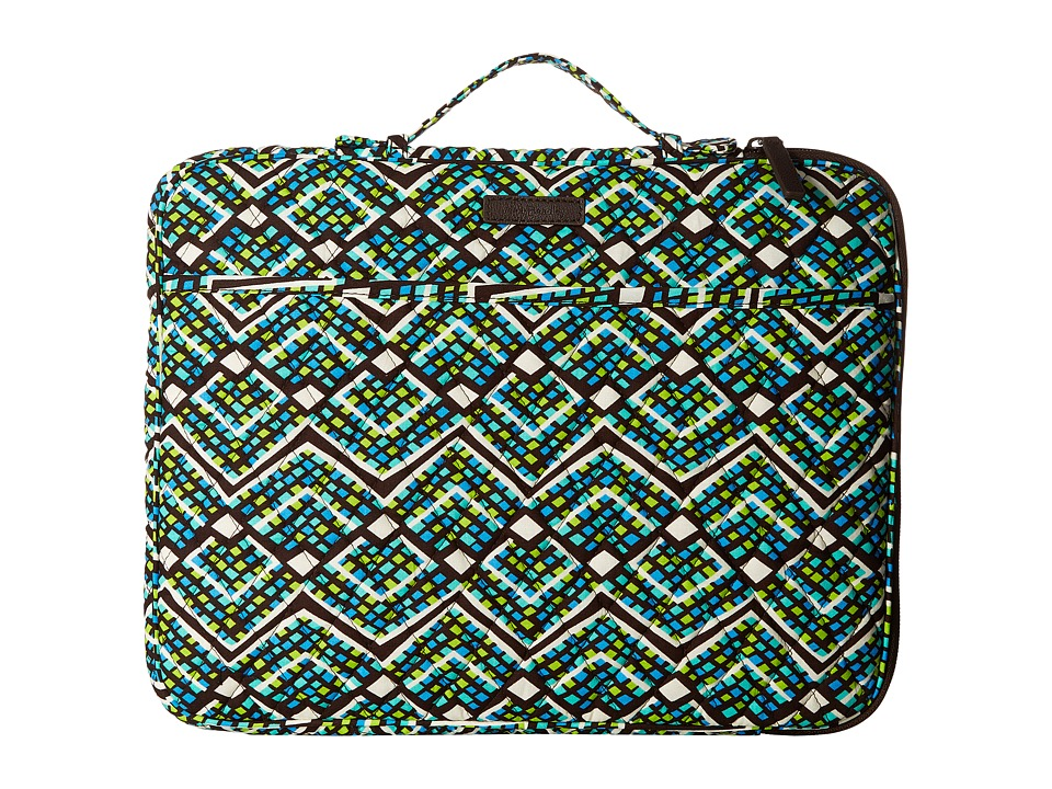 Vera Bradley - Laptop Organizer (Rain Forest) Briefcase Bags