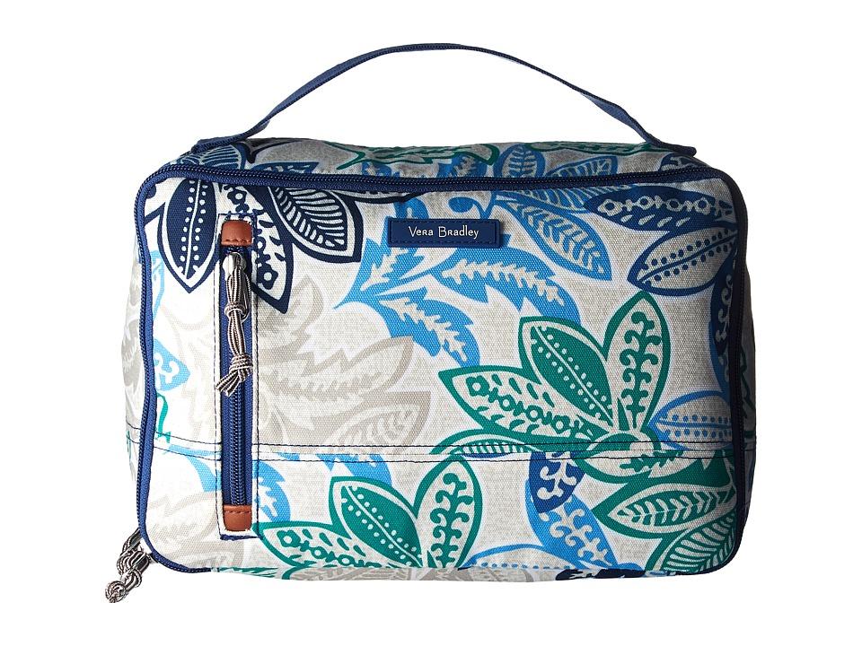 Vera Bradley Luggage - Large Blush Brush Case (Santiago) Cosmetic Case