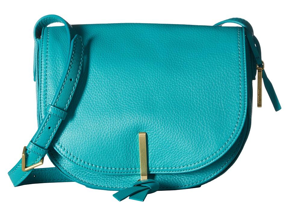 Vera Bradley - Carson Saddle Bag (Turquoise Sea) Bags