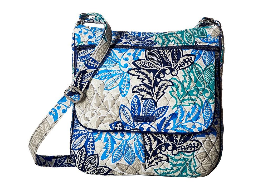 Vera Bradley - Double Zip Mailbag (Santiago) Cross Body Handbags