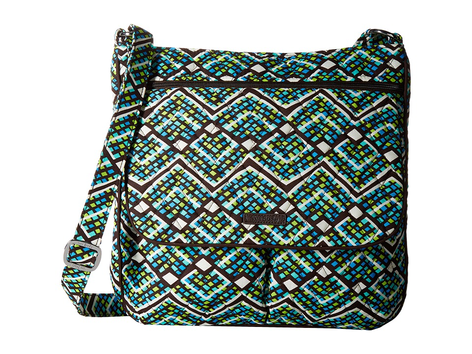 Vera Bradley - Double Zip Mailbag (Rain Forest) Cross Body Handbags