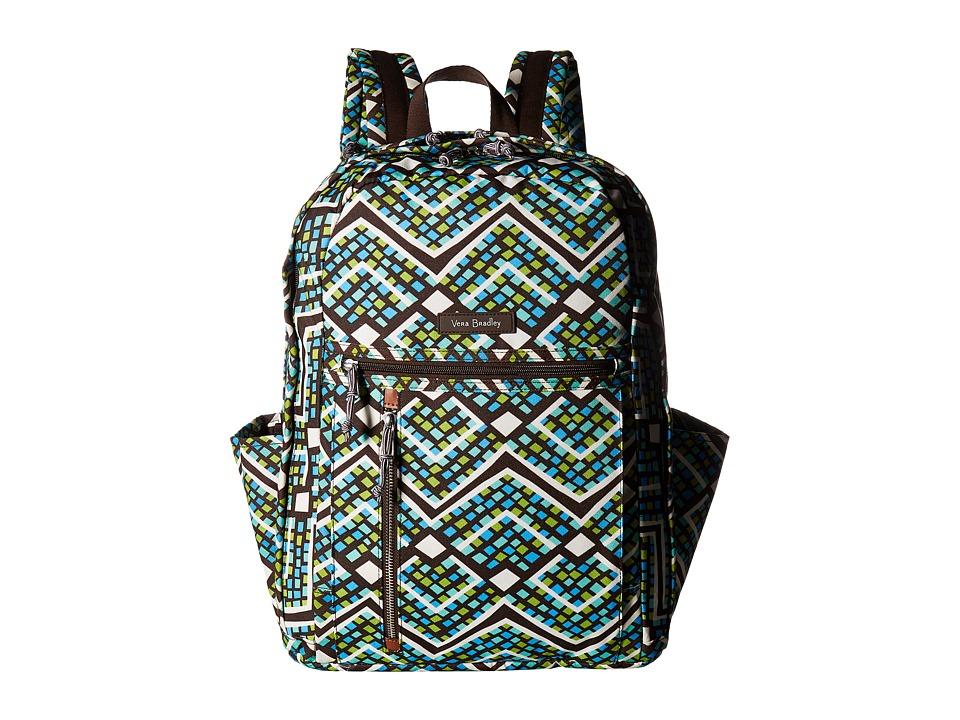 Vera Bradley - Grand Backpack (Rain Forest) Backpack Bags