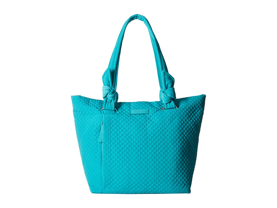 Vera Bradley - Hadley East/West Tote (Turquoise Sea) Tote Handbags