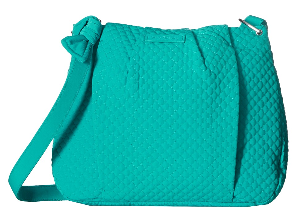 Vera Bradley - Hadley Crossbody (Turquoise Sea) Cross Body Handbags