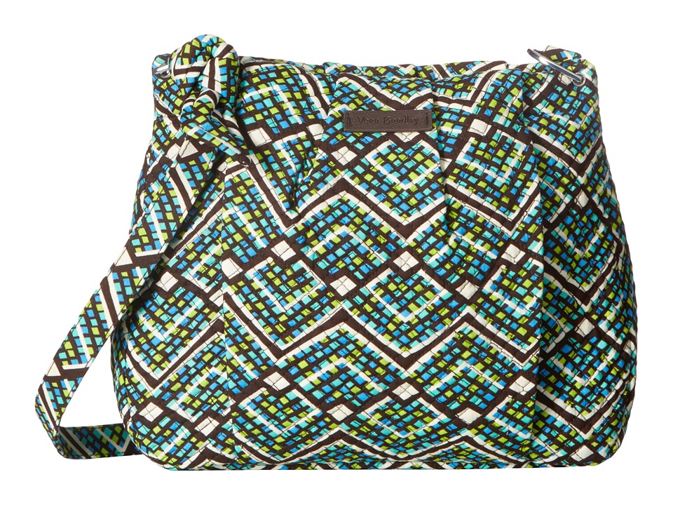 Vera Bradley - Hadley Crossbody (Rain Forest) Cross Body Handbags