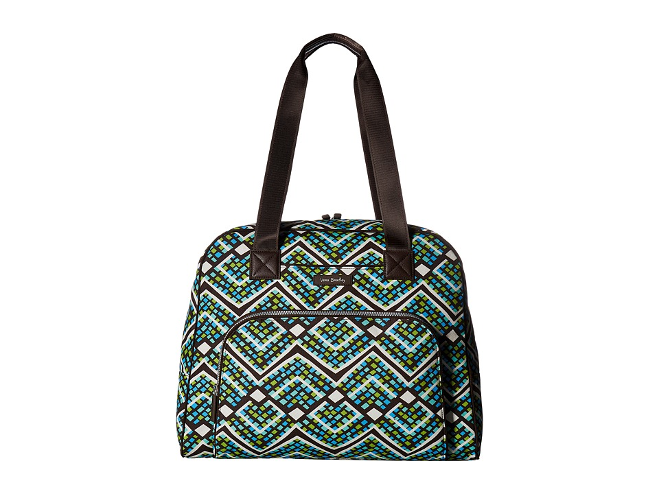 Vera Bradley - Go Anywhere Carry-On (Rain Forest) Carry on Luggage