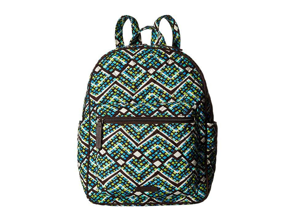 Vera Bradley - Leighton Backpack (Rain Forest) Backpack Bags
