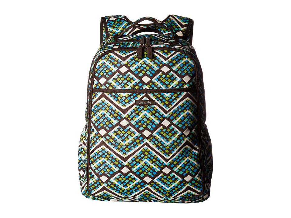Vera Bradley - Lighten Up Backpack Baby Bag (Rain Forest) Backpack Bags