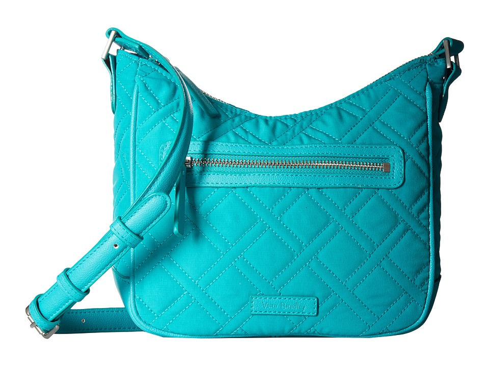 Vera Bradley - Mini Vivian Crossbody (Turquoise Sea) Cross Body Handbags