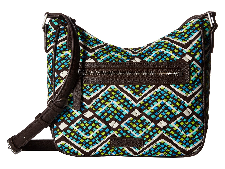 Vera Bradley - Mini Vivian Crossbody (Rain Forest) Cross Body Handbags