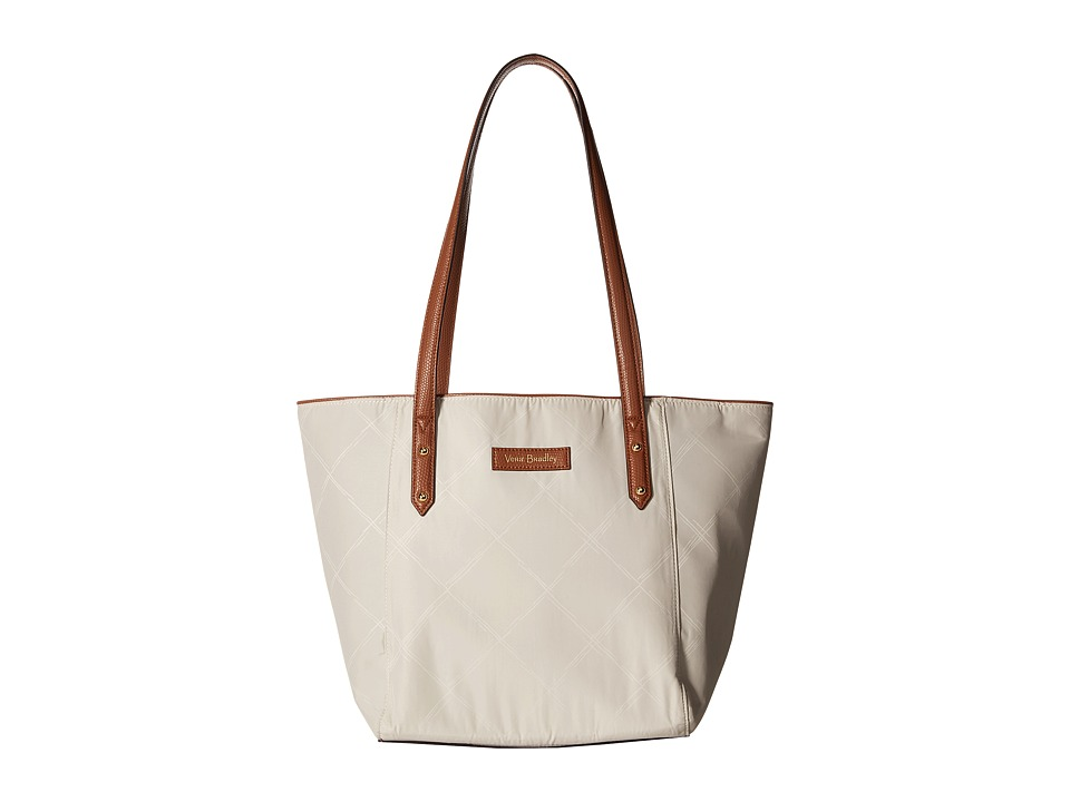 Vera Bradley - Preppy Poly Small Ella Tote (Sand) Tote Handbags