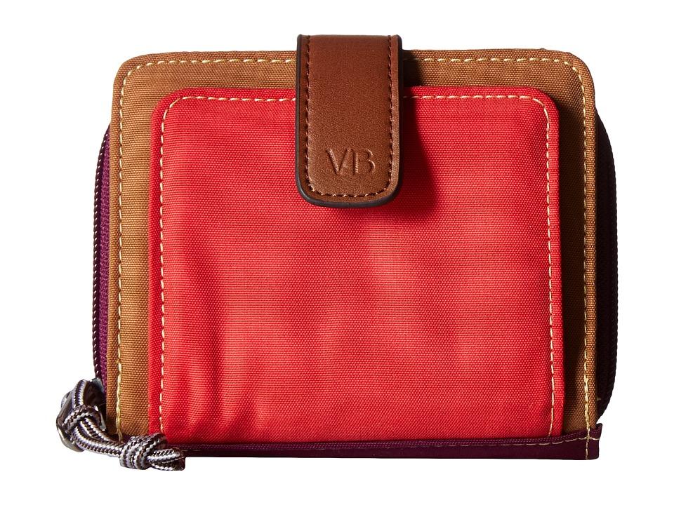 Vera Bradley - Lighten Up RFID Pocket Wallet (Hot Lava) Wallet Handbags