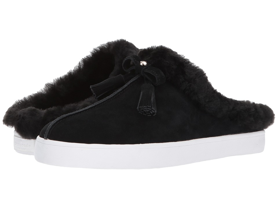 Kate Spade New York Limon (Black Shearling) Women