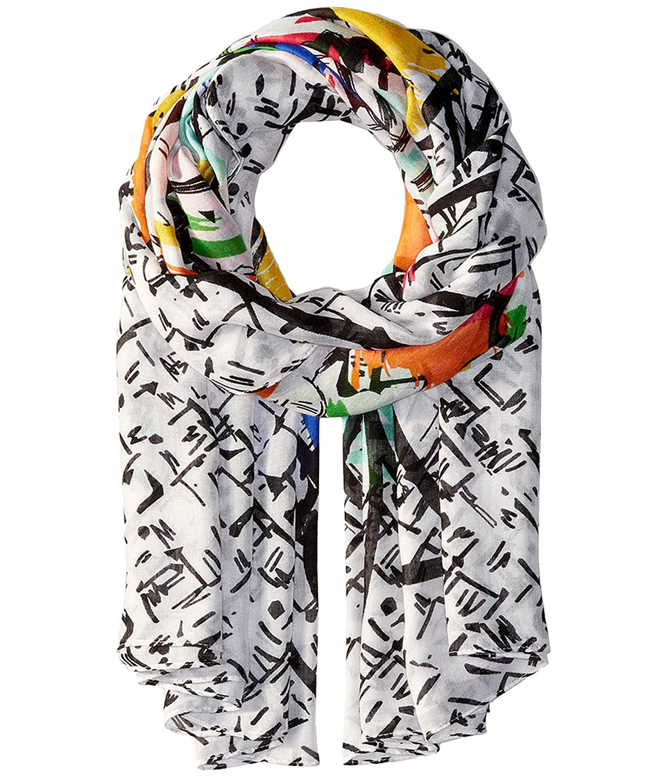 Vera Bradley - Oversized Scarf (Tropical Graffiti) Scarves