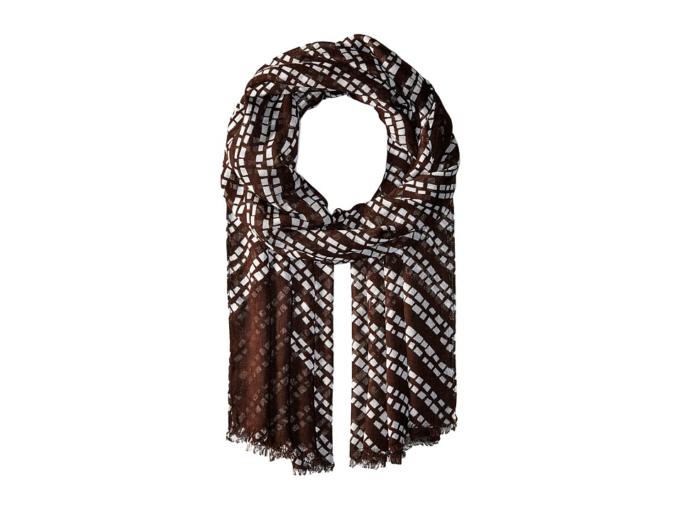 Vera Bradley - Soft Fringe Scarf (Rain Forest Stripes) Scarves