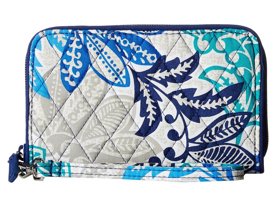 Vera Bradley - RFID Grab Go Wristlet (Santiago) Wristlet Handbags