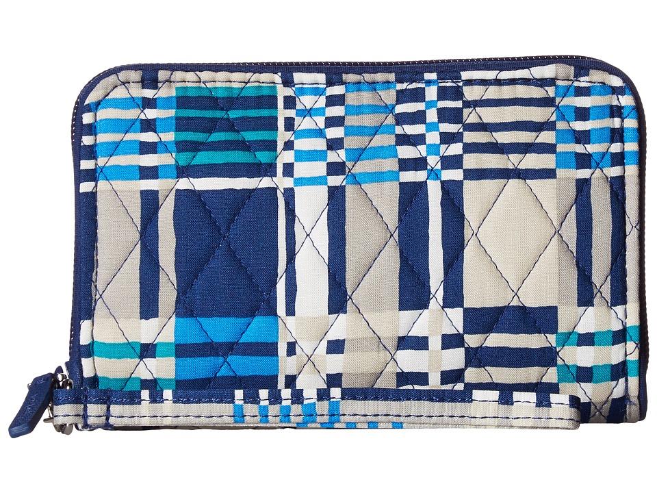 Vera Bradley - RFID Grab Go Wristlet (Santiago Woven) Wristlet Handbags