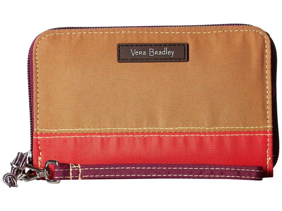 Vera Bradley - RFID Grab Go Wristlet (Hot Lava) Wristlet Handbags
