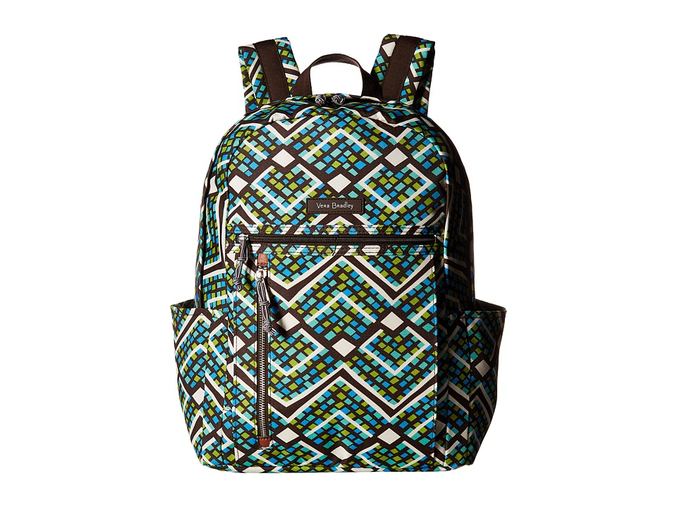 Vera Bradley - Small Backpack (Rain Forest) Backpack Bags