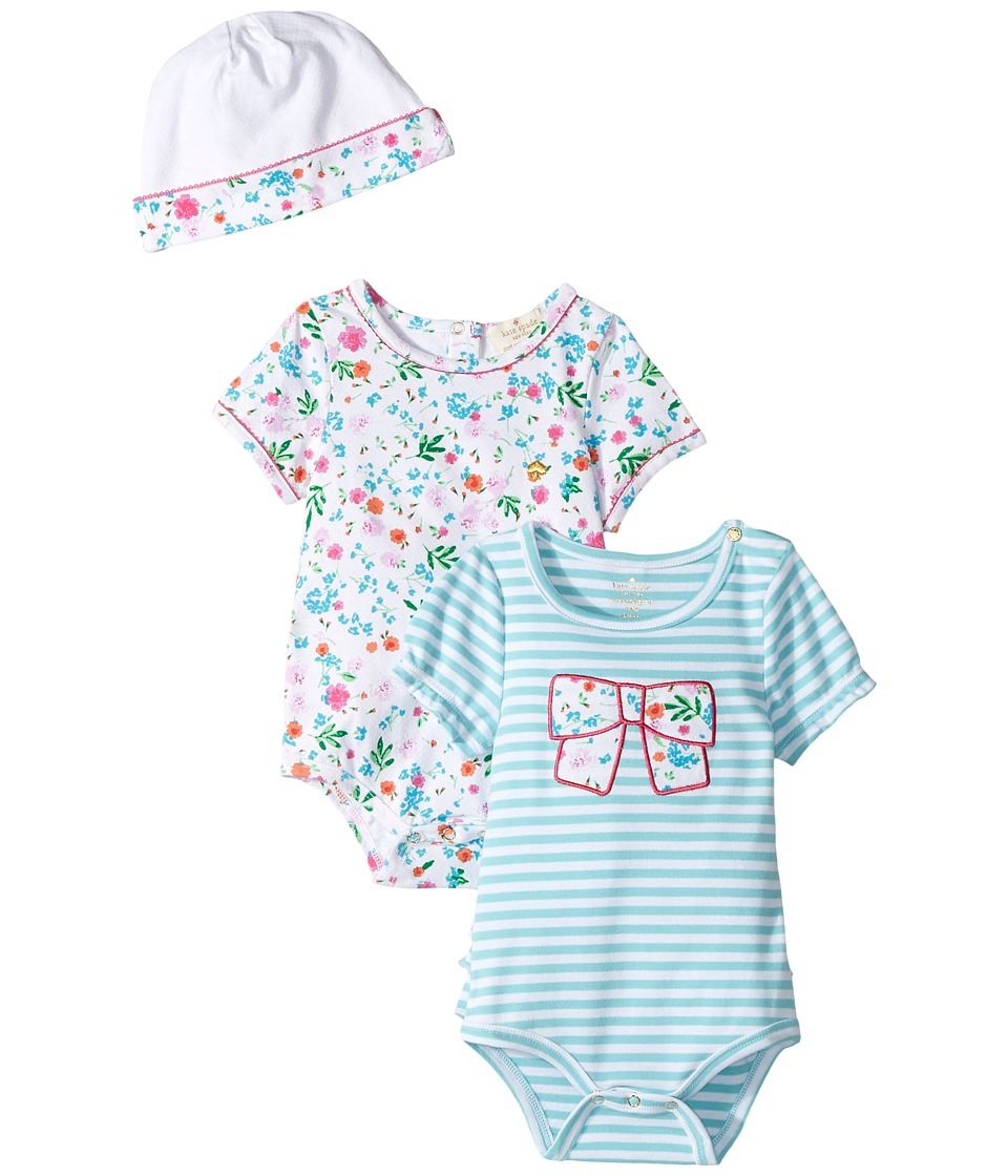 Kate Spade New York Kids - Bodysuits and Cap Set (Infant) (Assorted) Girl's Active Sets