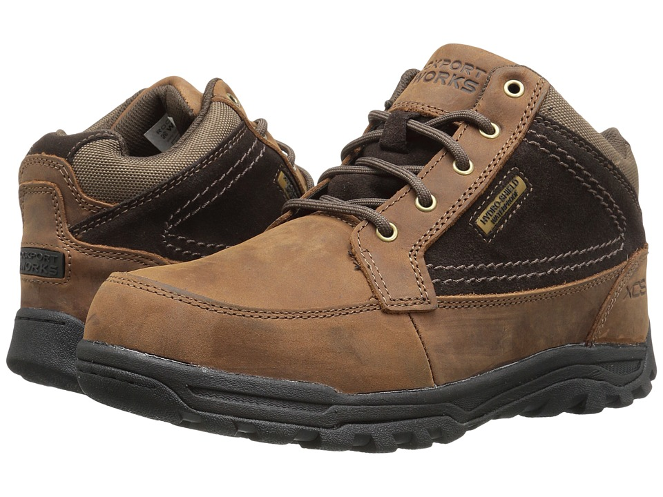 Rockport Works - Trail Technique (Brown) Men's Shoes