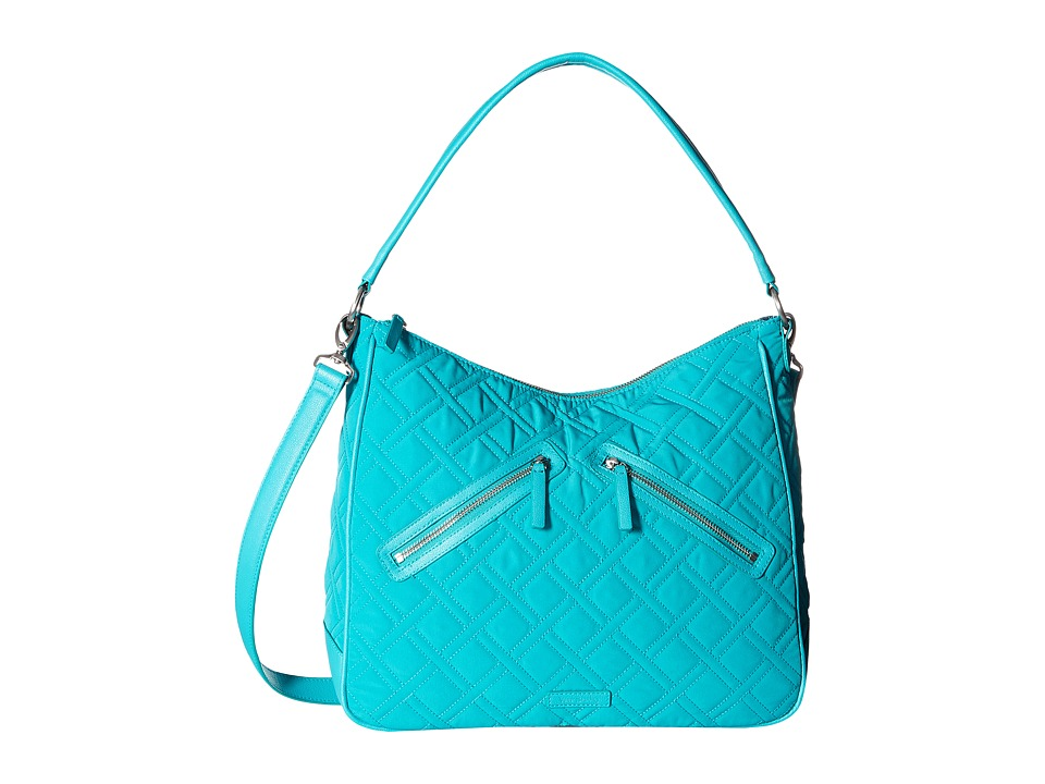 Vera Bradley - Vivian Hobo Bag (Turquoise Sea) Hobo Handbags